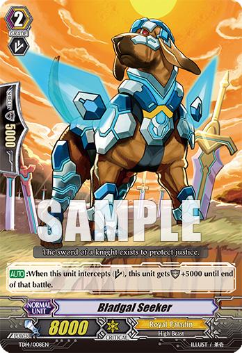 Card Errata:Bladgal Seeker