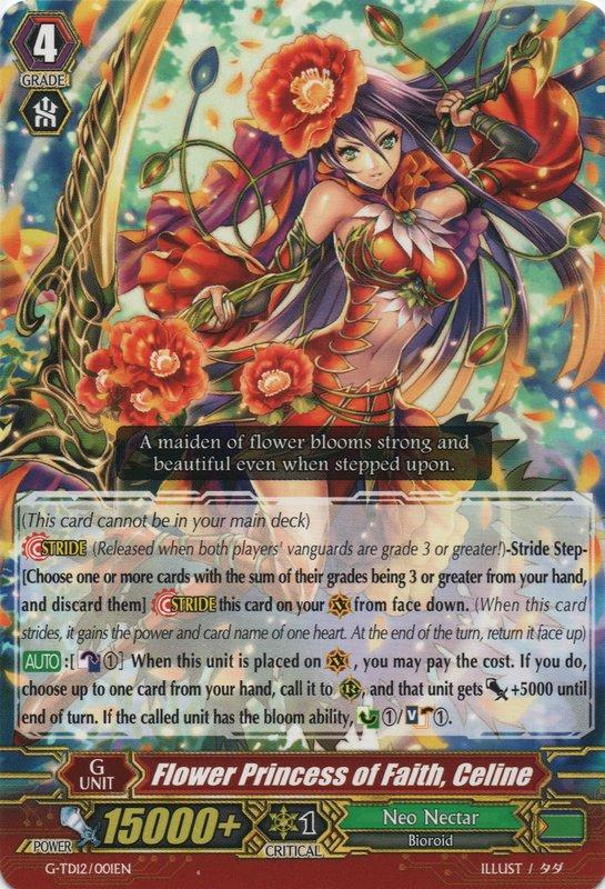 Flower Princess of Faith, Celine