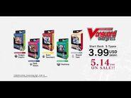 CARDFIGHT!! VANGUARD overDress Start Decks 01 to 05