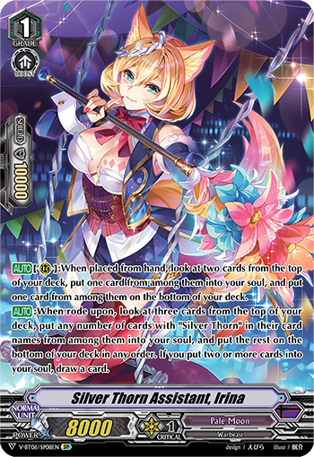 Silver Thorn Assistant, Irina (V Series)