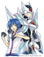 Aichi & Blaster Blade-Hagiya