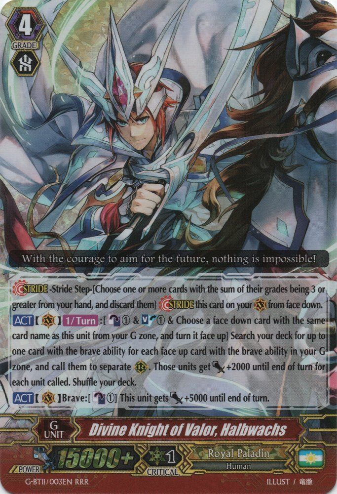 Divine Knight of Valor, Halbwachs