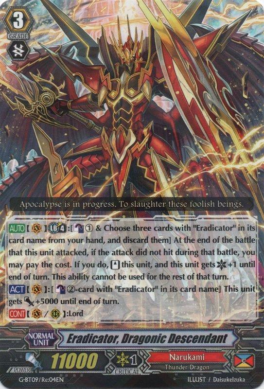 Eradicator, Dragonic Descendant
