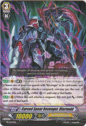 Cursed Spear Revenger, Diarmuid