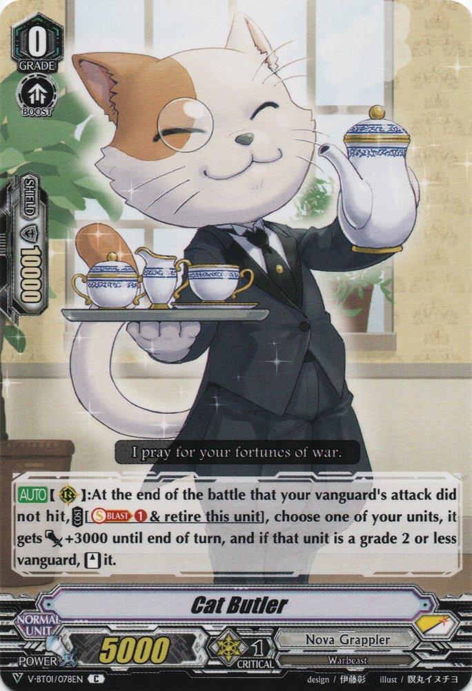 Cat Butler (V Series)