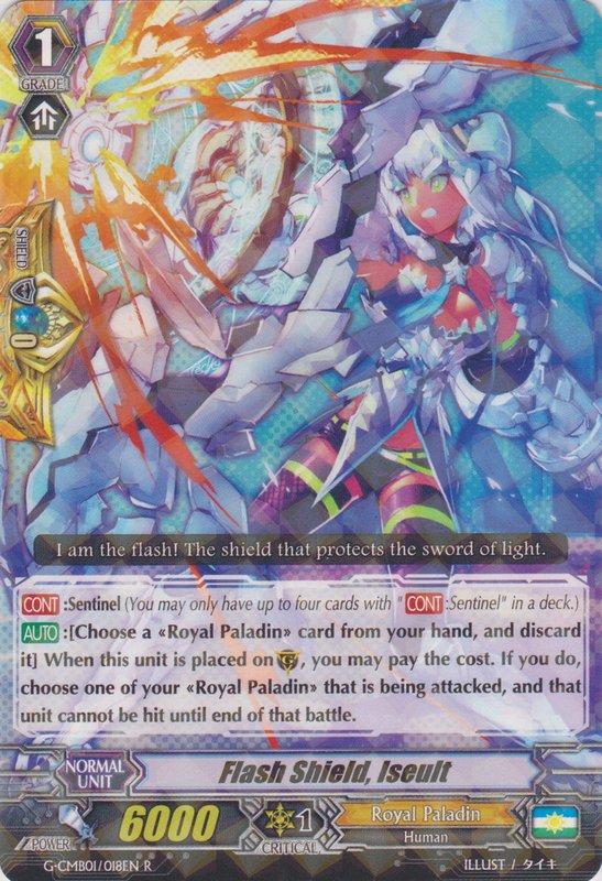 Flash Shield, Iseult