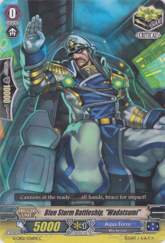"Blue Storm Battleship, ""Wadatsumi"""