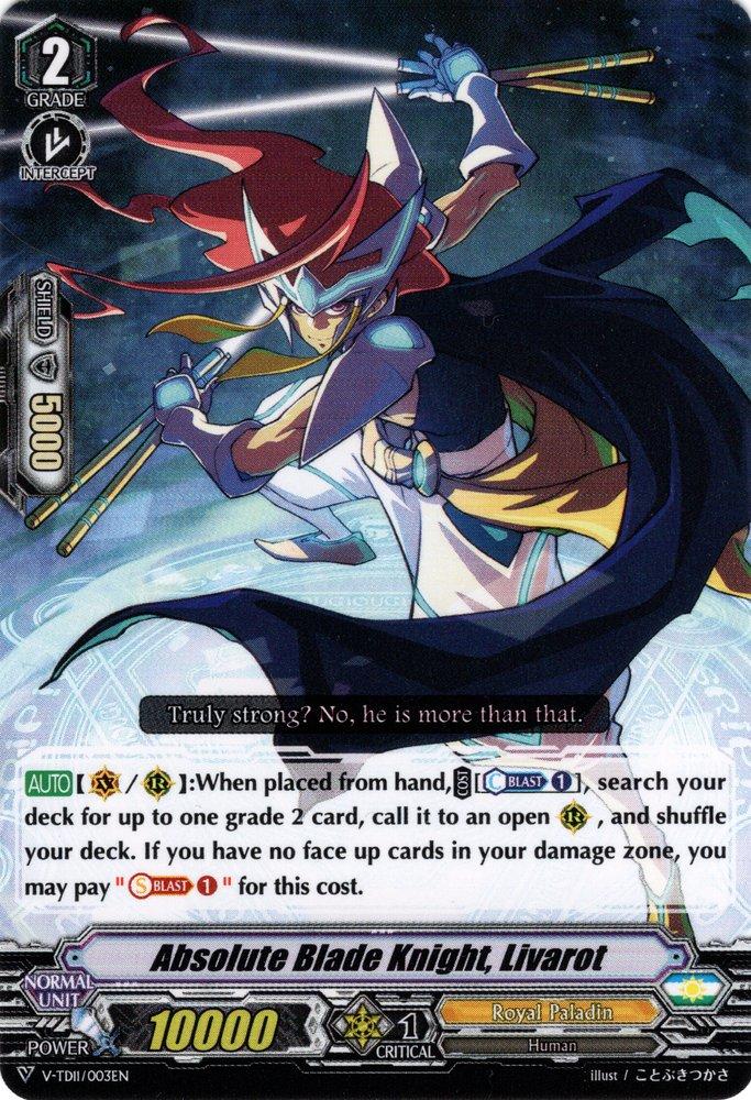 Absolute Blade Knight, Livarot (V Series)