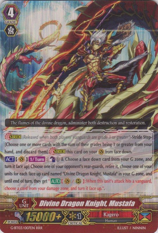 Divine Dragon Knight, Mustafa