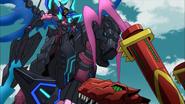 Sovereign Black Dragon, Aurageyser Dragon (Anime-G-NC-3)