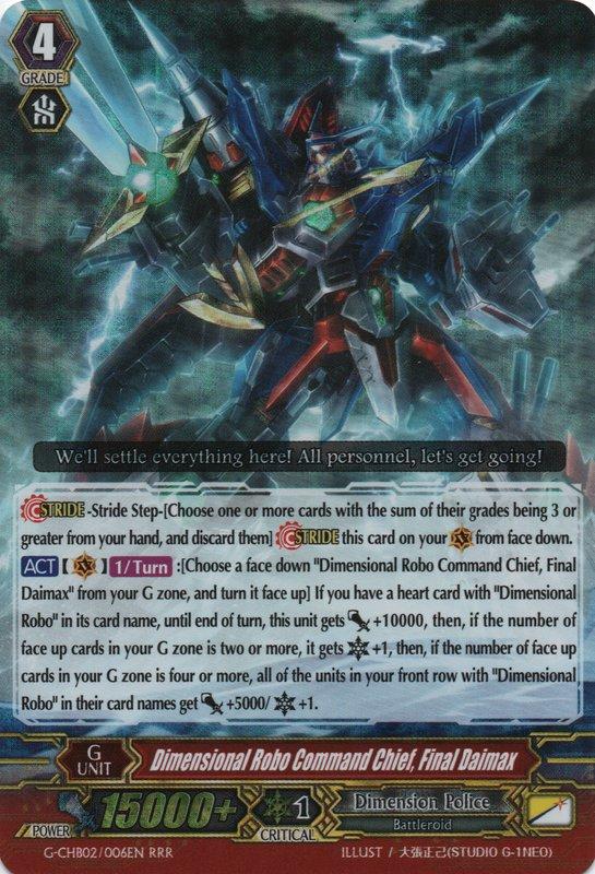 Dimensional Robo Command Chief, Final Daimax