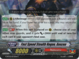 Fast Speed Stealth Rogue, Genzou