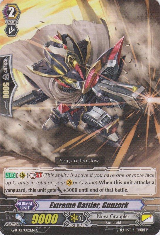 Extreme Battler, Gunzork