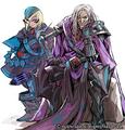 Knight of Brawn Grosne and Knight of Sagacity Gonvar Design