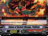 Flame of Varied Change, Peklenc