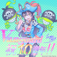 Vampire Princess of Night Fog, Nightrose (Extra-10th Anniversary)
