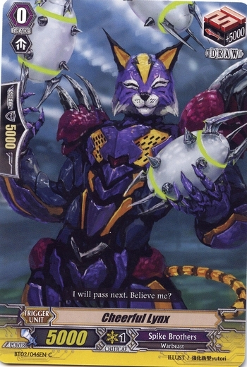 Cheerful Lynx