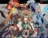 Susanoo, Kusanagi & Ame-no-Murakumo (Extra-V)