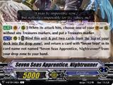 Seven Seas Apprentice, Nightrunner (V Series)