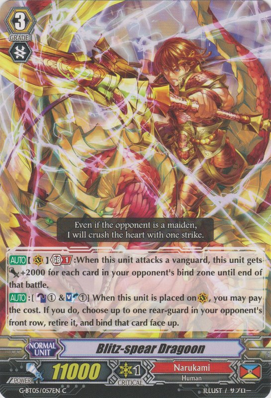 Blitz-spear Dragoon