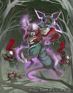 Stealth Beast, Million Rat (Full Art)