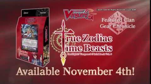 CARDFIGHT!! VANGUARD G Trial Deck Vol. 9 True Zodiac Time Beasts