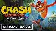 Crash Bandicoot 4 It's About Time - Official Trailer-0
