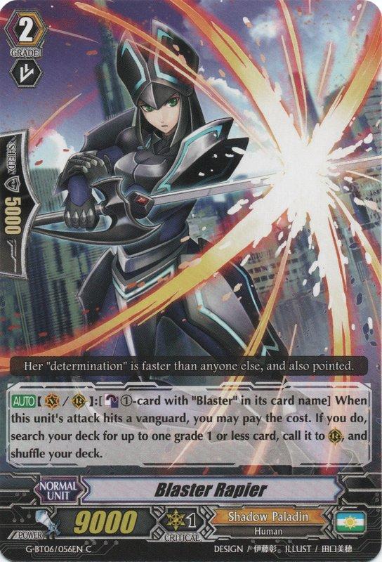 Blaster Rapier