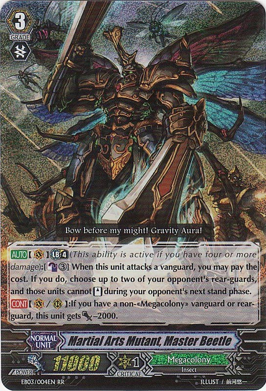 Martial Arts Mutant, Master Beetle