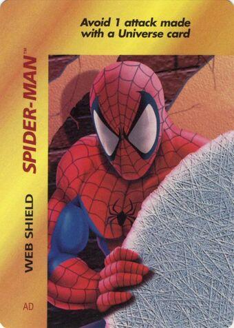 Spider Man Web Shield Mvop Cardguide Wiki Fandom