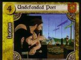 Undefended Port (ASoT)