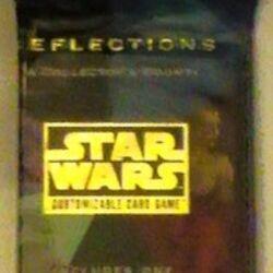 Star Wars CCG Death Star Vaders Lightsaber Boba Fett Foil Reflections Cards