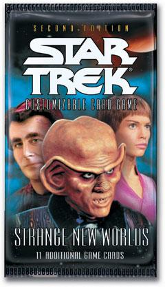 Relic FOIL 7A9 Star Trek CCG 2E Strange New Worlds Montgomery Scott