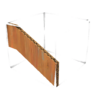 Wooden Sloped Half Wall.png