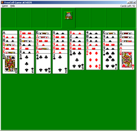 FreeCell on Windows.