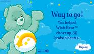 Happy Hearts Results Screen (Wish)