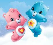 Baby Hugs and Tugs CGI render