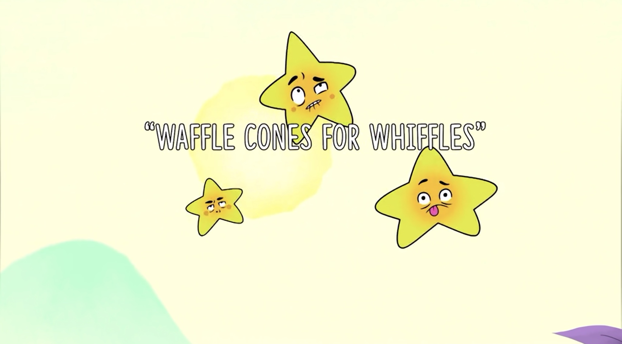 Waffle Cones for Whiffles