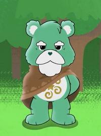 Watchful Bear, as he appears in Care Bears: Unlock the Magic.