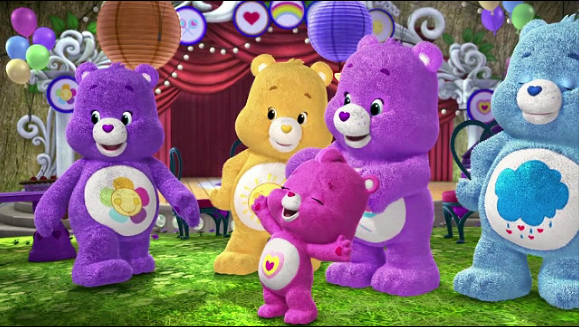 Care Bears & Cousins- Full Theme & Image clip
