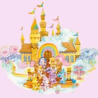 Care Bear Magical Care a Lot Castle Small Roof Part