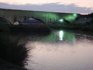 Pecos River Flume Night