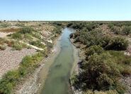 Grandfalls Texas Pecos River 2010