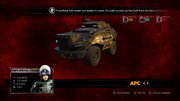 The APC in Carmageddon Max Damage for the Xbox One.