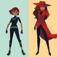 Carmen 2019 2 outfits