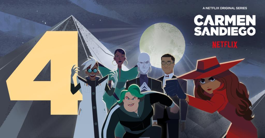 Carmen Sandiego (2019 Series) Season 4