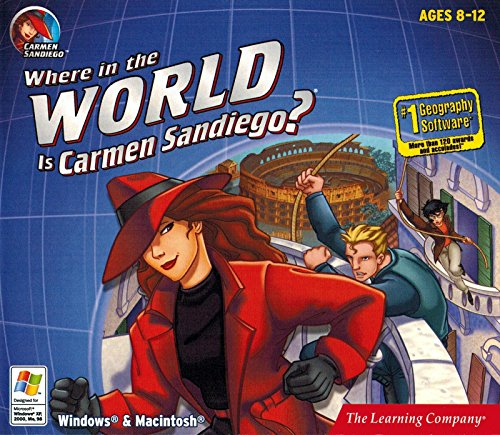 Where in the World is Carmen Sandiego? Treasures of Knowledge