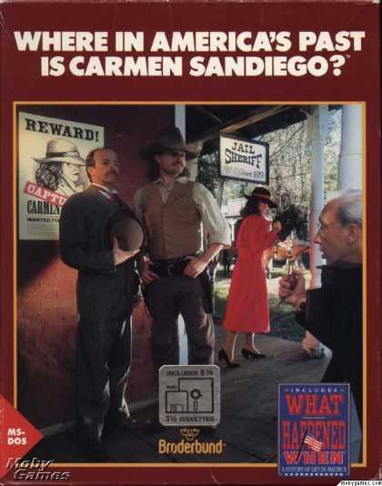 Where in America's Past is Carmen Sandiego?