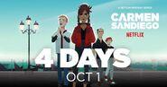 Carmen Sandiego Season 3 Promo 4 Days