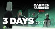 Carmen Sandiego Season 3 Promo 3 Days